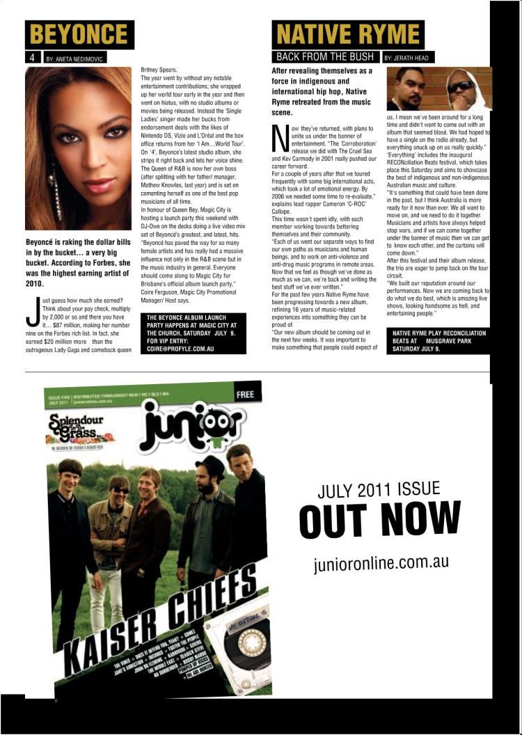 Scene Magazine, July 5, 2011