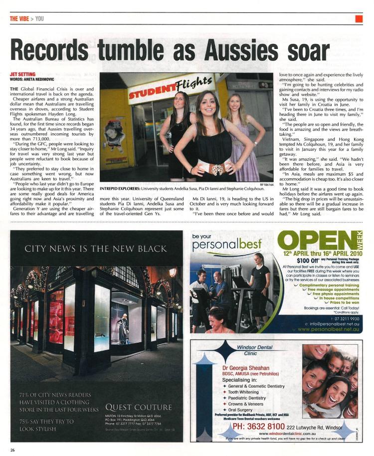 City News, April 8, 2010