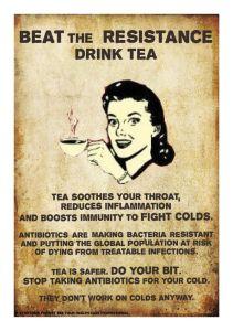 drink tea resistance
